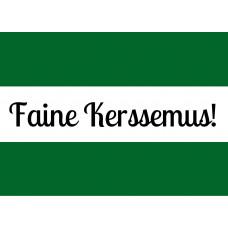 Rotterdamse kerstkaart 'Faine Kerssemus' (10 st)